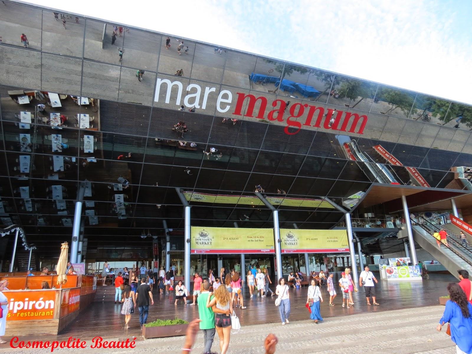 Maremagnum, Barcelone, Espagne, voyage, carnet de voyage, Barcelona, beauté, mode, boutiques
