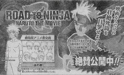 Shonen Jump 35 Menma Naruto - Siapakah Menma ? Versi Lain Naruto di Road to Ninja