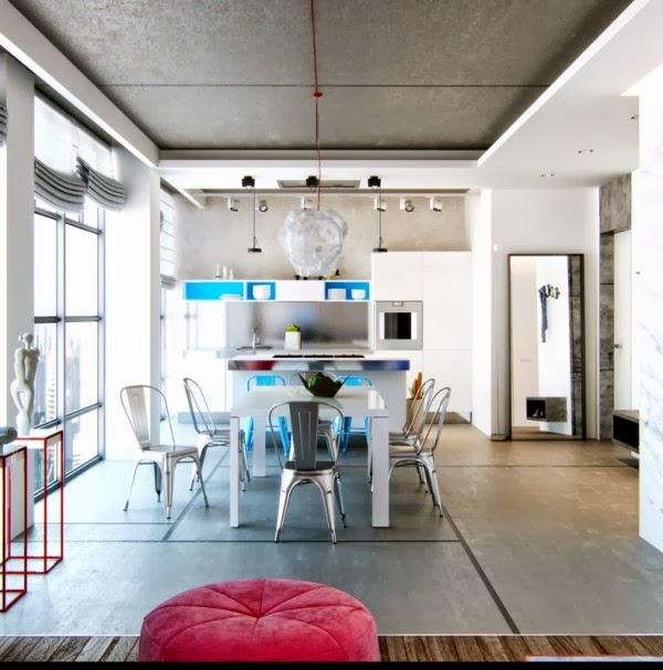 Maisons Avec Un Colorée Ville Vibe