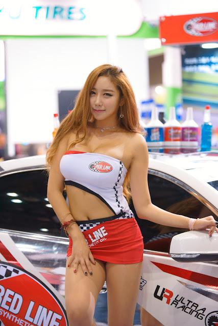 2 Kim Da On - Automotive Week 2015 - very cute asian girl-girlcute4u.blogspot.com