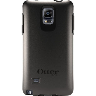 Official Otterbox SYMMETRY Case 77-50503 for Samsung Galaxy Note 4 Black