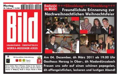 web leo: februar 2011, Einladung