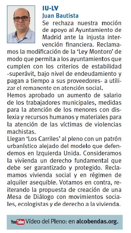 Resumen Pleno #Alcobendas