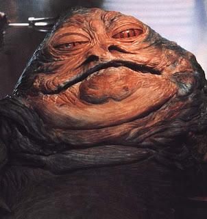 MBTI enneagram type of Jabba Le Hutt/Jabba the Hutt