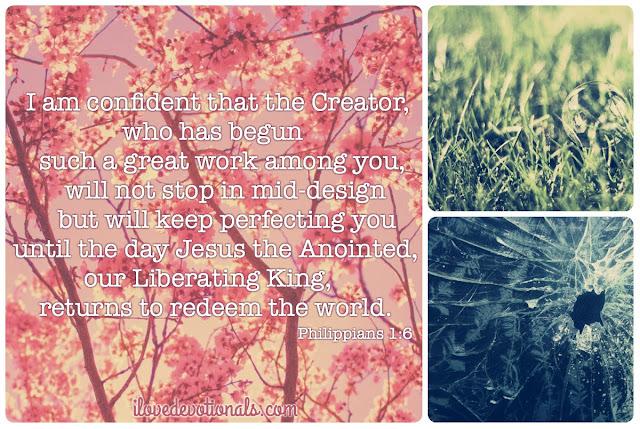 Philippians 1:6 devotional