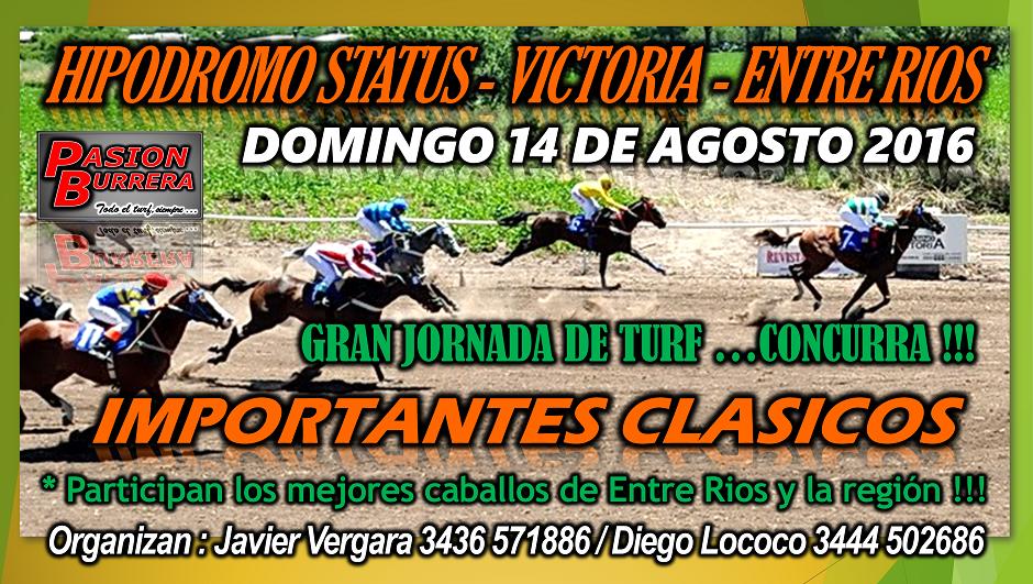 VICTORIA - 14 DE AGOSTO