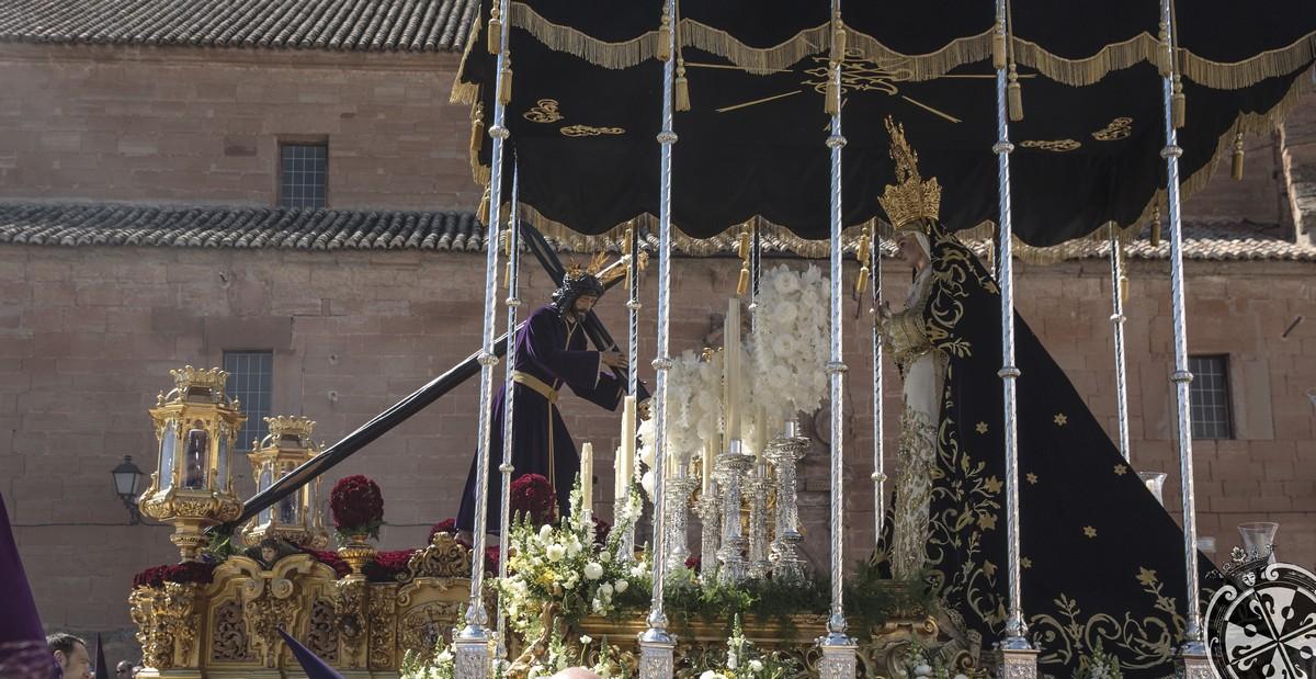 """Carlos Javier Rubio Martínez ganador del I concurso fotográfico """"procesión del Viernes Santo..."""""""