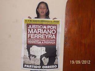LUZ LAPASTA, ESTUDIANTE DE DERECHO DE LA UNICEN, TAMBIÉN QUIERE JUSTICIA POR MARIANO