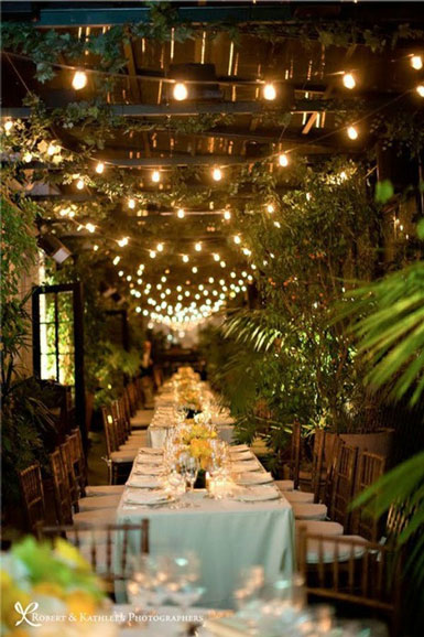 Home Wedding Reception Decorations : Belle maison wedding reception inspiration outdoor bliss