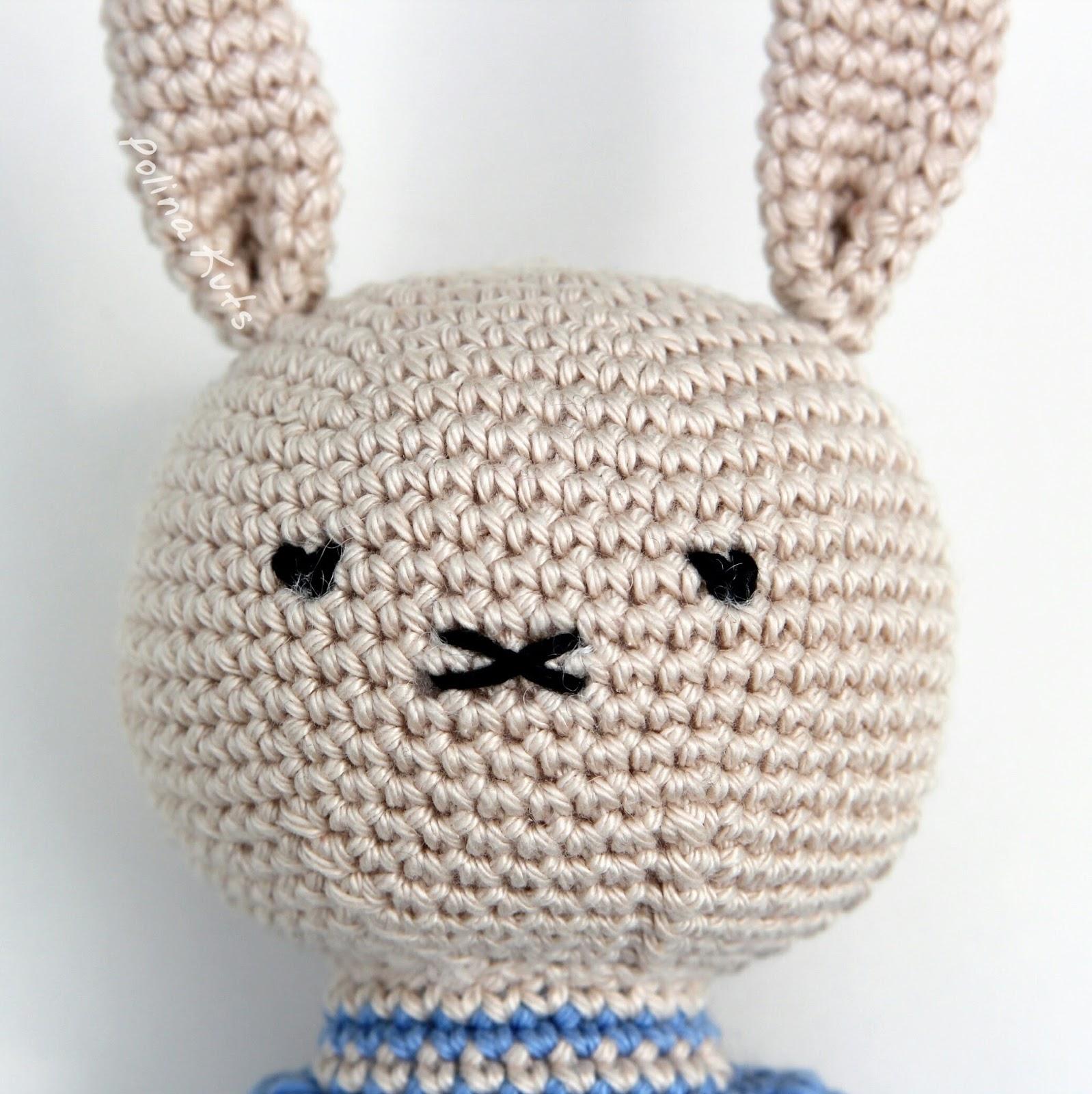 Связать зайца крючком схема фото 512