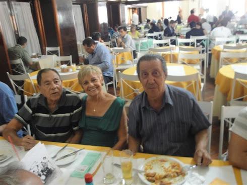 ALMOÇO DE CONFRATERNIZAÇÃO DOS MÚSICOS NO CLUBE MILITAR CINELÂNDIA RIO DE JANEIRO