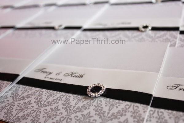 black ribbon luxurious dimand buckle