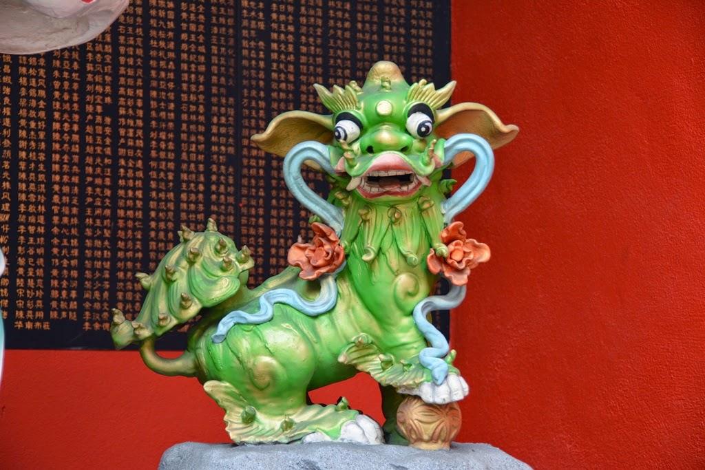 Guan Di Temple Kuala Lumpur dragon