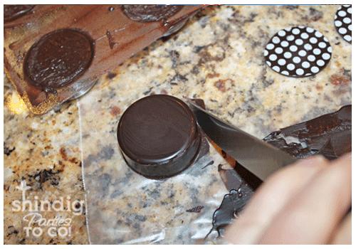 chocolate covered oreos mold