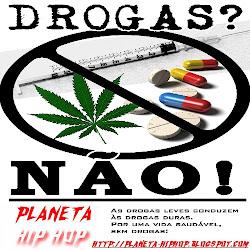 Diga não as drogas,preserve sua vida.