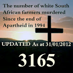 South African Genocide Count