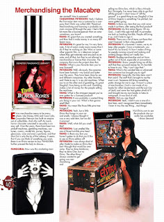 Page 40 from Fangoria #344 featuring Elvira