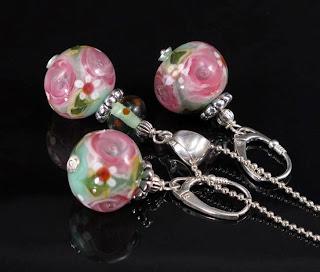 handmade lampwork beads jewelry