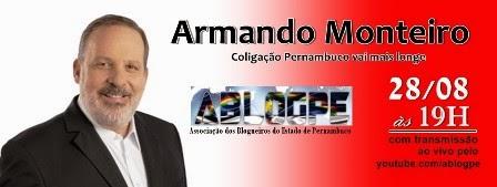 Nesta quinta, blogueiros conversam com o candidato ao Governo Armando Monteiro
