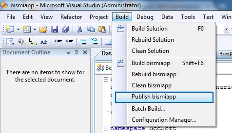 Create Setup File for a program in Visual Studio