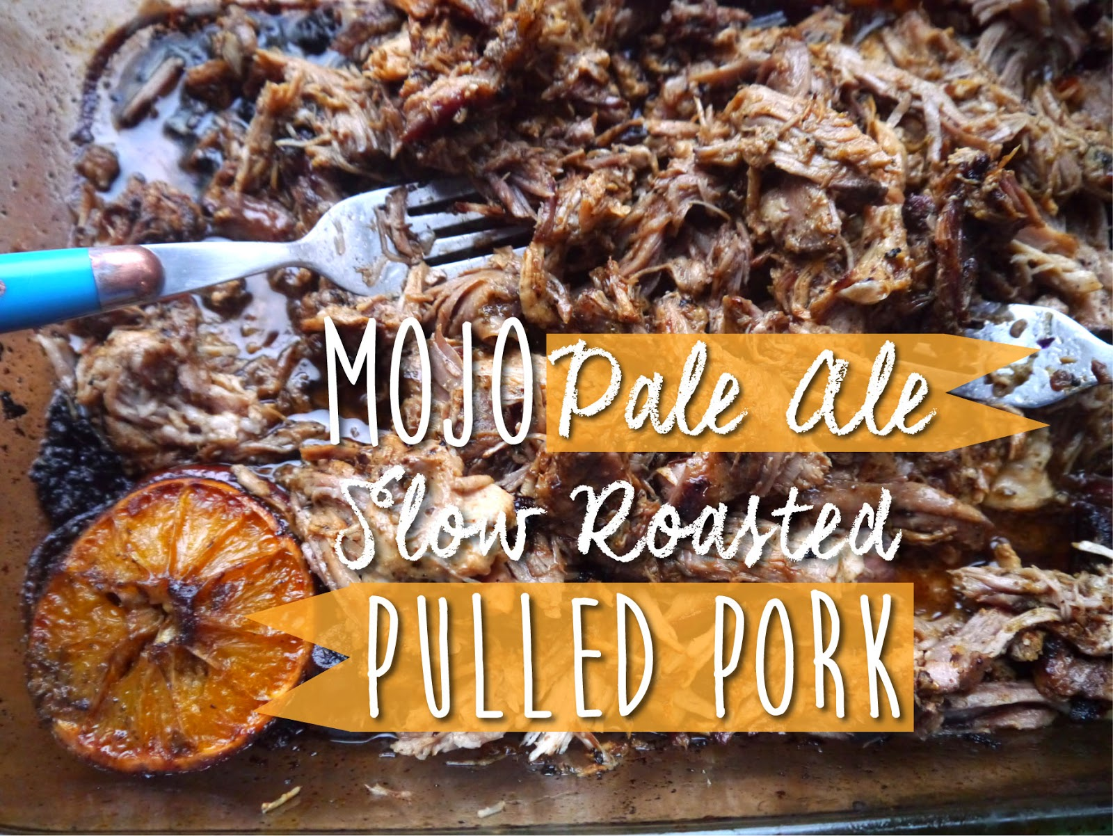 NY FoodGasm: Mojo Pale Ale Slow Roasted Pulled Pork #BeerMonth