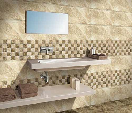 Foundation Dezin Decor Bathroom High Lighter Tiles