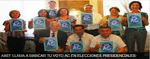 ANEF llama a marcar el voto con AC