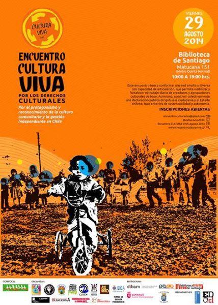 Gestores del Encuentro de Cultura Viva CHILE!