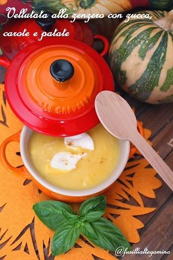 crema zucca e patate
