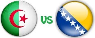 مباراة الجزائر البوسنة و الهرسك