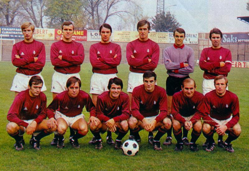 Resultado de imagem para FC METZ 1970