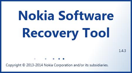 تحميل برنامج Nokia Software Recovery Tool 1.4.3