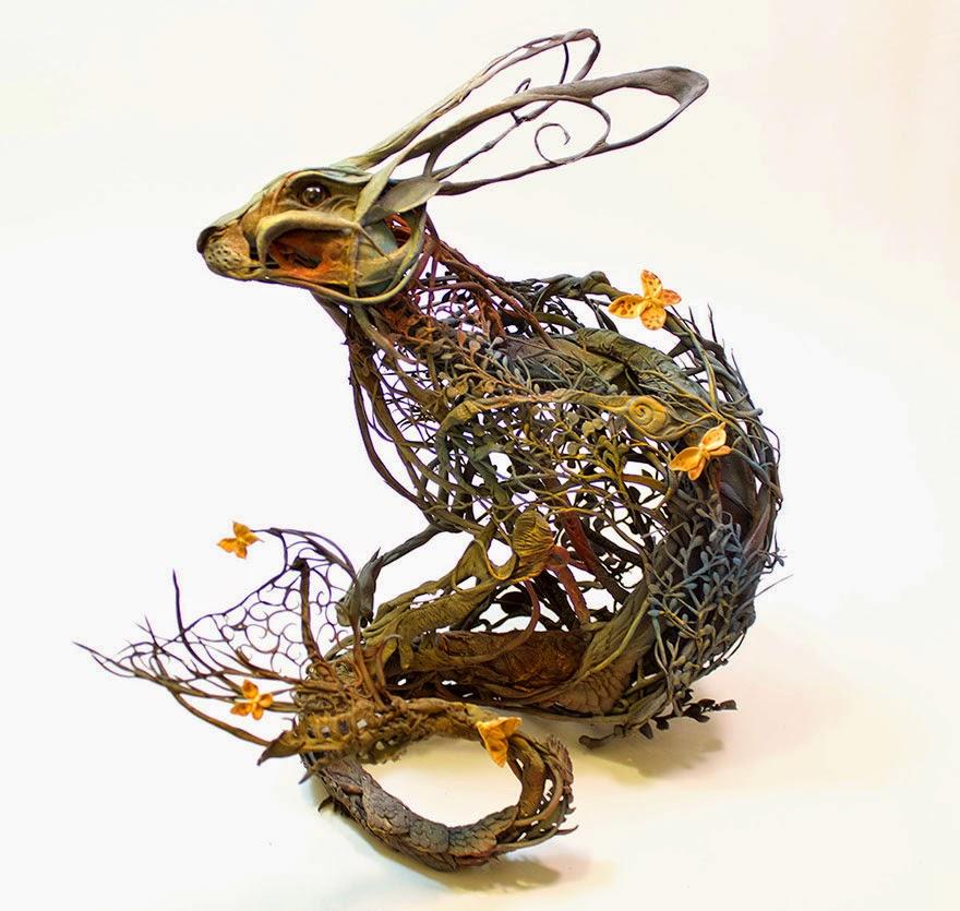 Surreal Sculptures by Ellen Jewett-3