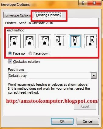 Cara Membuat Amplop Surat di Microsoft Word 2007 1, cara membuat ...