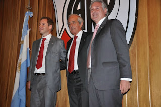 Rodolfo D'Onforio, Jorge Brito, Matias Patanian, River, River Plate, Autoridades 2013