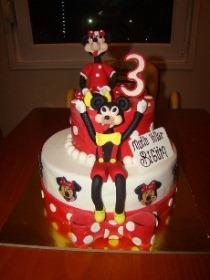 Begüm'ün Mickey Mouse temalı 3 yaş doğum günü partisi