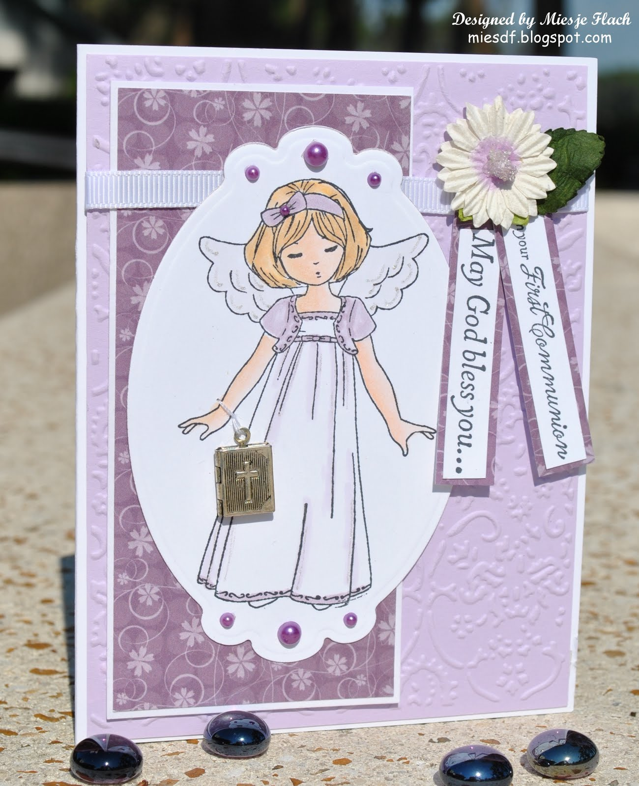 Craft room with a view more 1st communion cards for First communion craft ideas