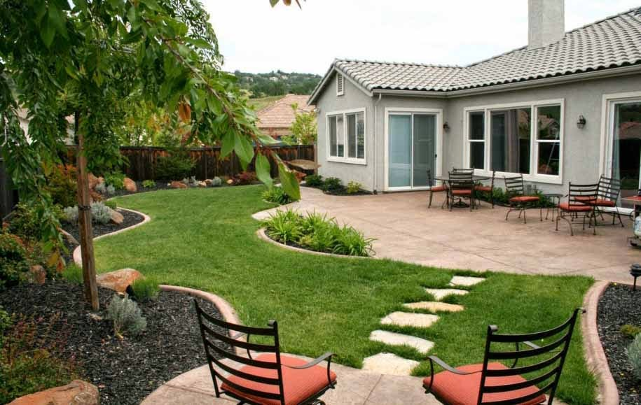 taman belakang rumah Wonderful Backyard Landscaping Ideas