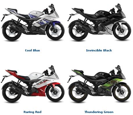 Harga Cicilan Motor Yamaha R15 Dan R25