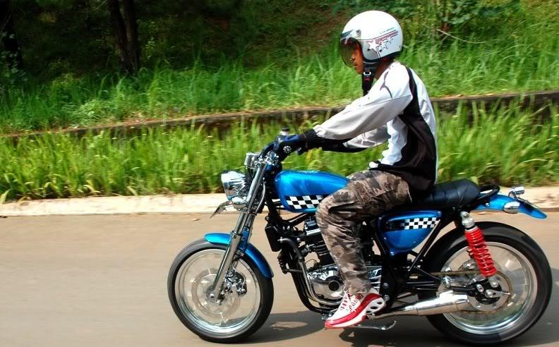 Gambar Modifikasi Motor Terbaru