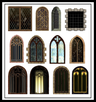 Computer games design november 2011 for Architectural window designs