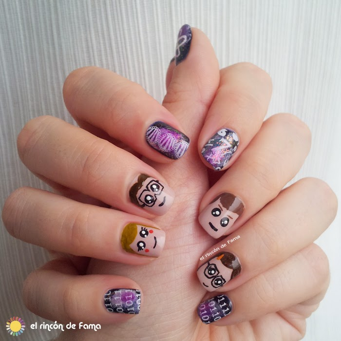 BIG BANG THEORY NAILS
