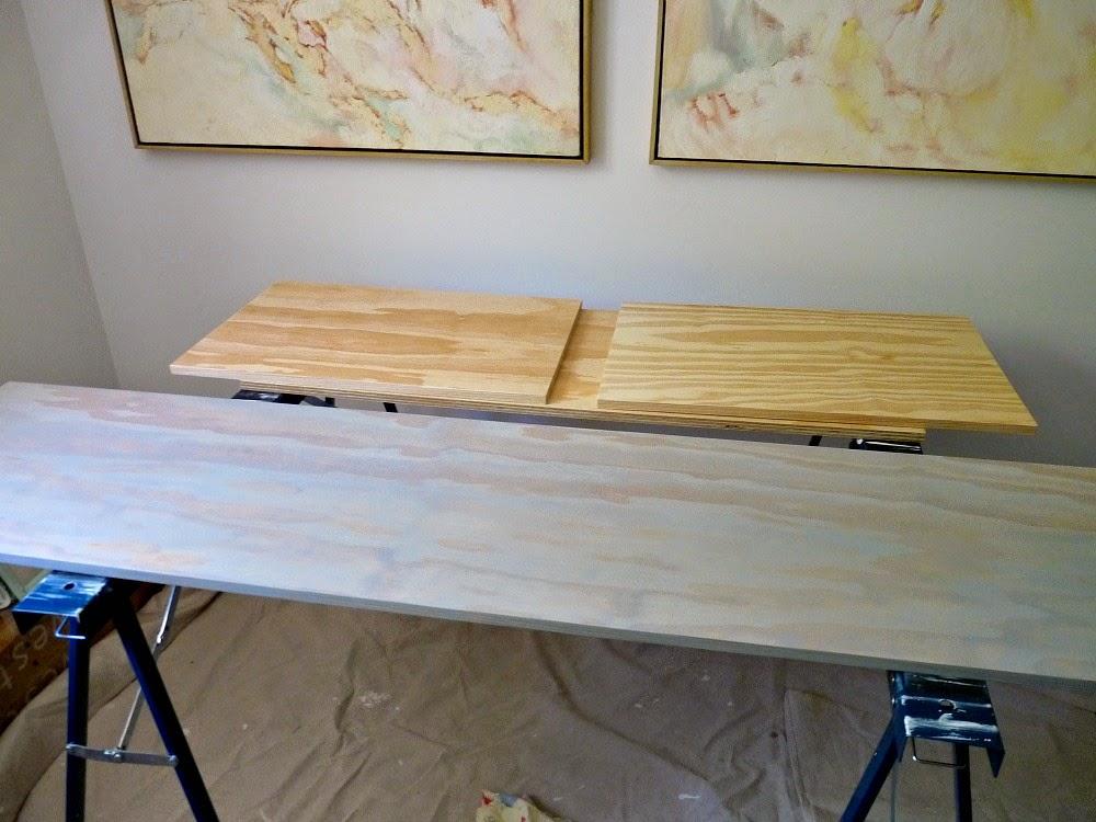 Ikea Sektion Credenza : Diy plywood topped ikea hack floating credenza dans le lakehouse