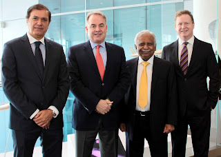 Captain Hameed Ali – Acting CEO Jet Airways; James Hogan - President and CEO, Etihad Airways; Naresh Goyal – Chairman of Jet Airways; and James Rigney - Chief Financial Officer, Etihad Airways