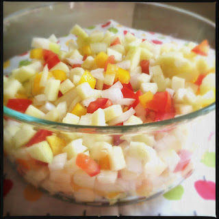 Recipe: Crisp green apple salsa