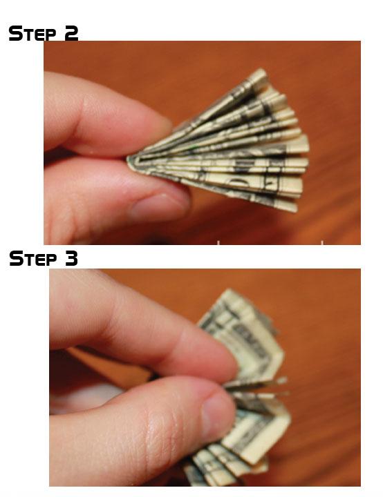 Dollar Bouquet Origami   Paper Origami Guide