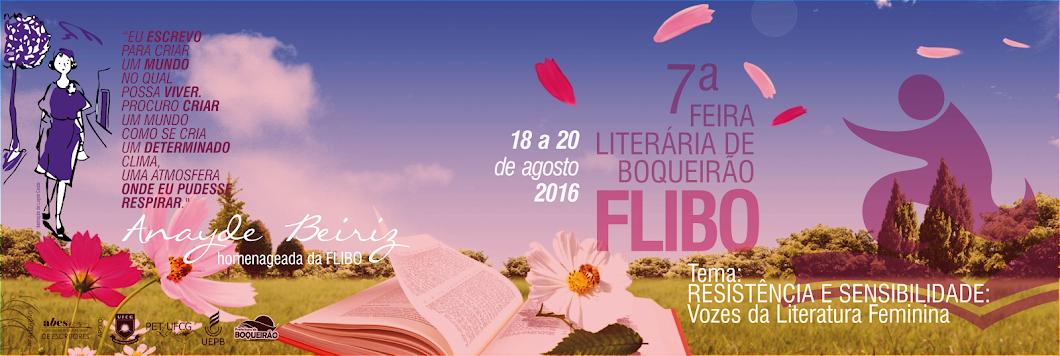 FLIBO | FEIRA LITERÁRIA DE BOQUEIRÃO