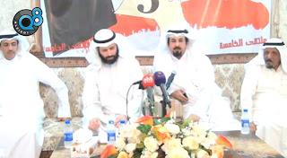 مقابلة النائب الدكتور فيصل المسلم في ملتقى الخامسة في ديوان الشاعر أحمد سيار العنزي 27-6-2012