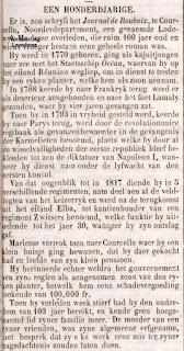 Oud-strijder Marlesse Lodewijk 1770-1874