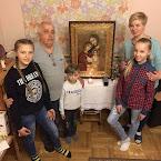 Сьогодні ми приймаємо в нашому домі ікону Святої Родини та мощів св. Людвіка та Зелі Мартен.